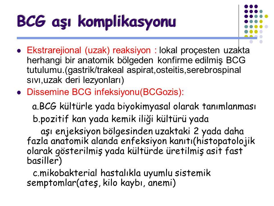 BCG aşı komplikasyonu