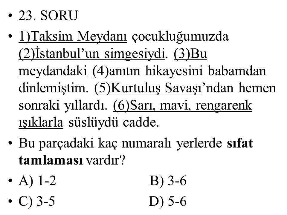 23. SORU