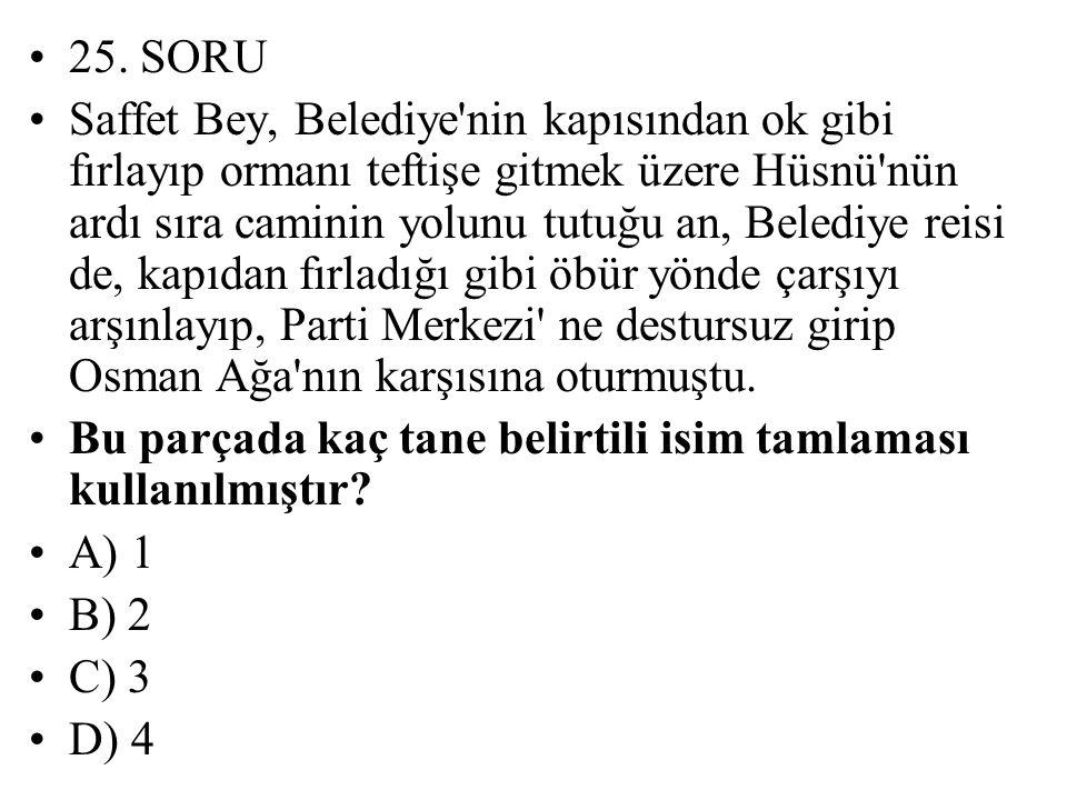 25. SORU