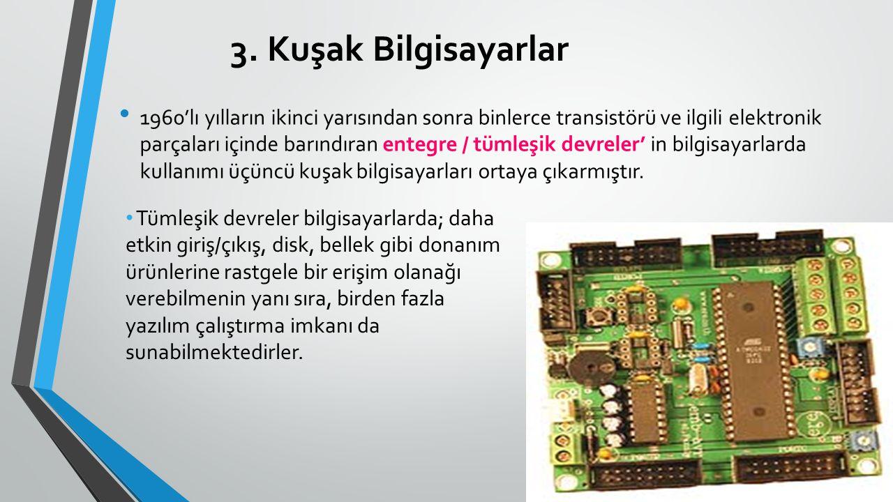 3. Kuşak Bilgisayarlar