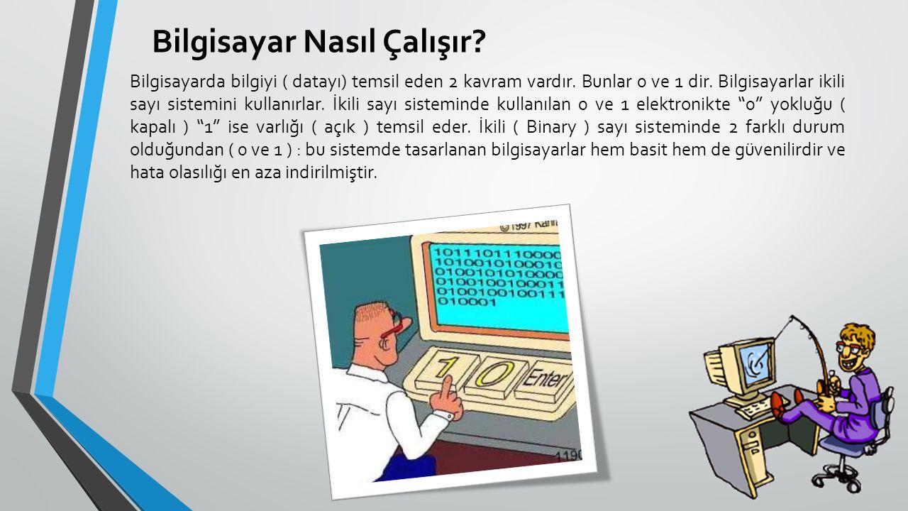 Bilgisayar Nasıl Çalışır