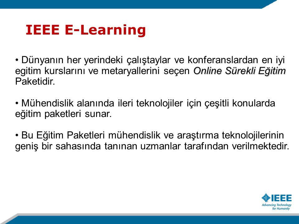 IEEE E-Learning