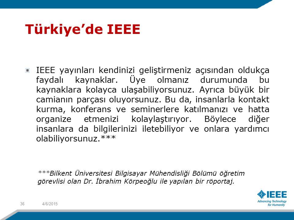 Türkiye'de IEEE