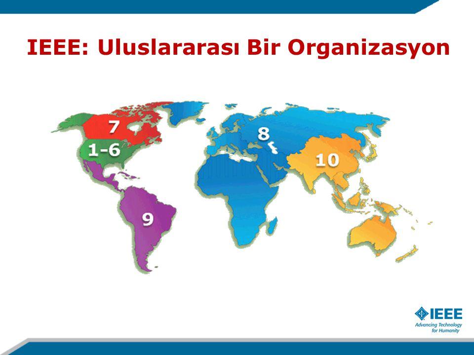 IEEE: Uluslararası Bir Organizasyon