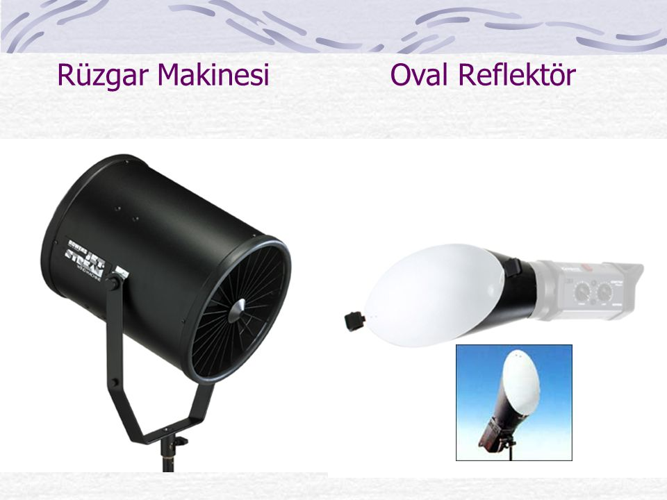 Rüzgar Makinesi Oval Reflektör