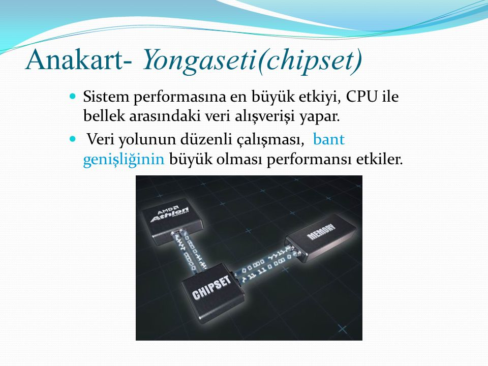 Anakart- Yongaseti(chipset)