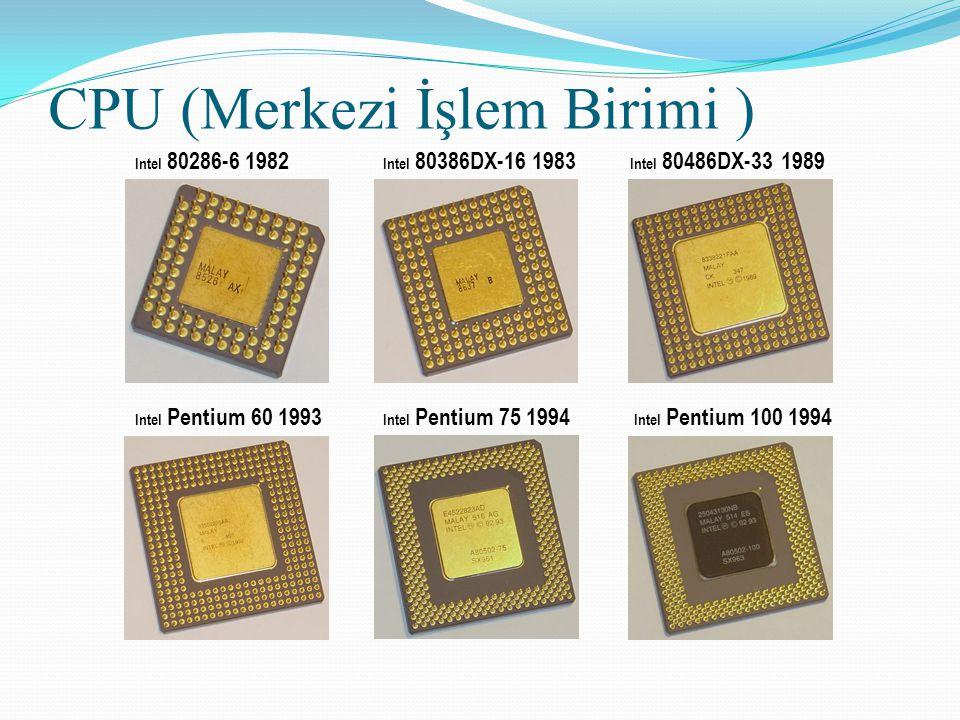 CPU (Merkezi İşlem Birimi )