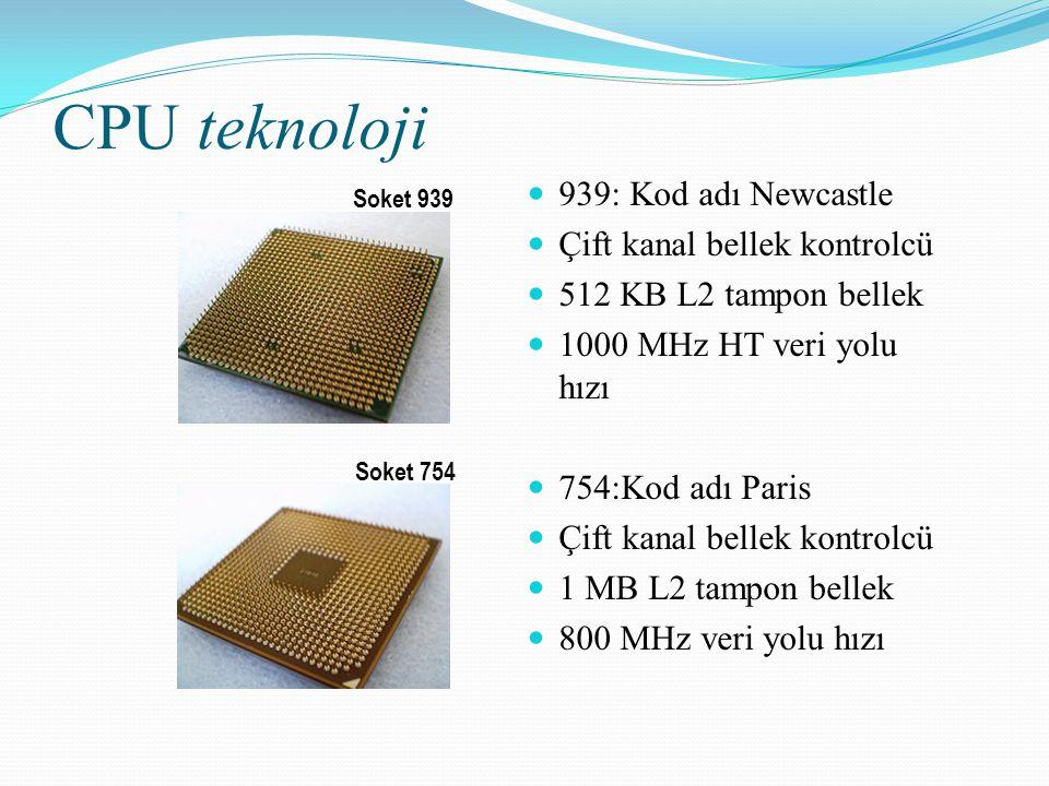 CPU teknoloji 939: Kod adı Newcastle Çift kanal bellek kontrolcü