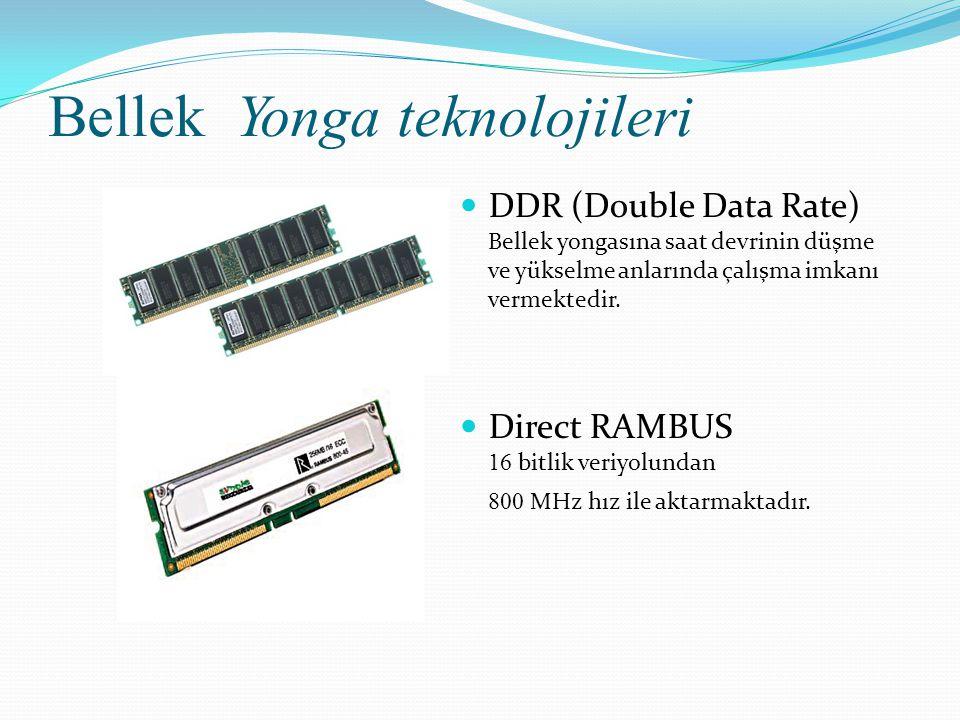 Bellek Yonga teknolojileri