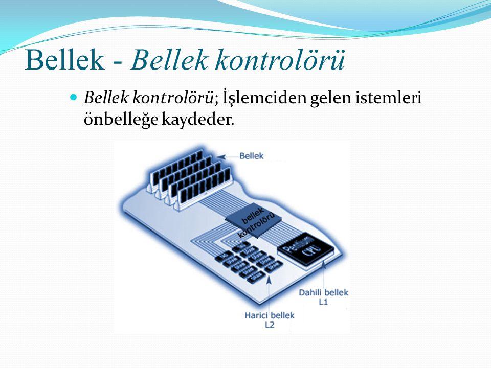 Bellek - Bellek kontrolörü