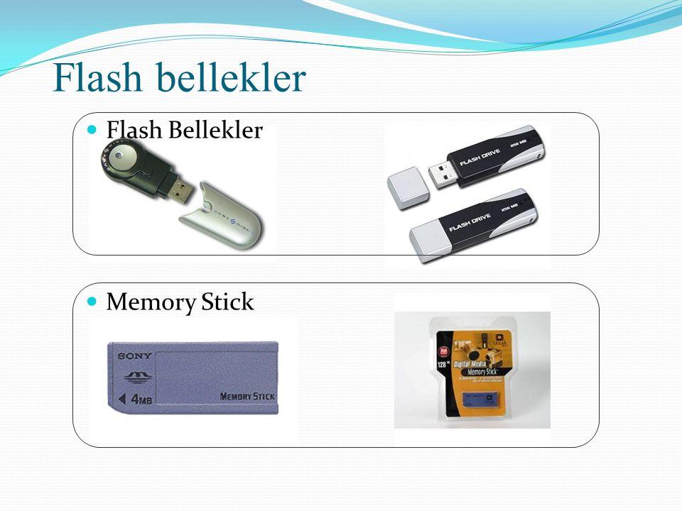 Flash bellekler Flash Bellekler Memory Stick