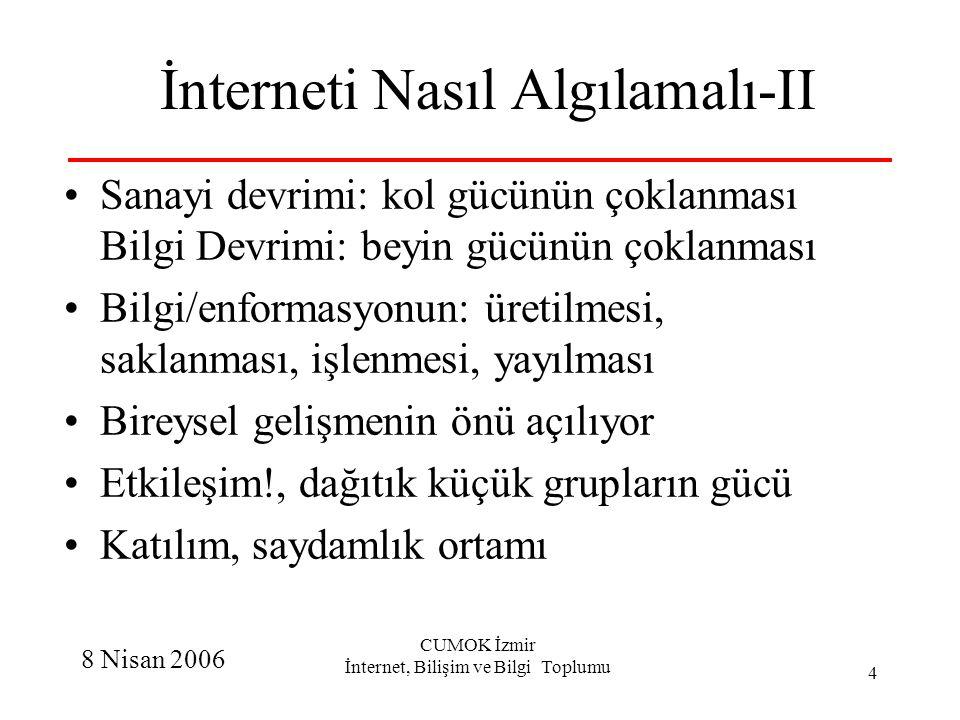 İnterneti Nasıl Algılamalı-II