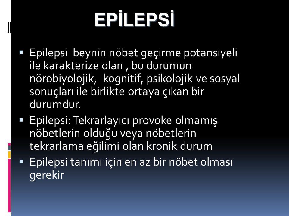 EPİLEPSİ