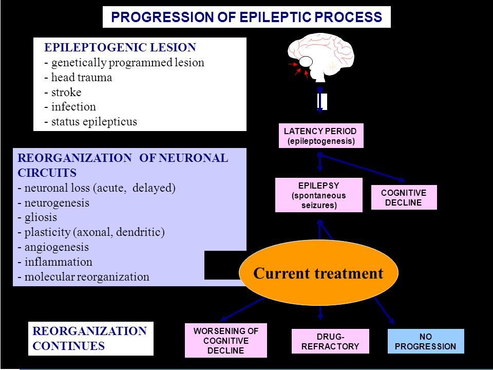 PROGRESSION OF EPILEPTIC PROCESS