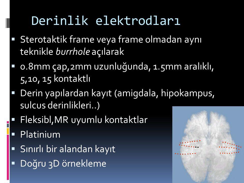 Derinlik elektrodları