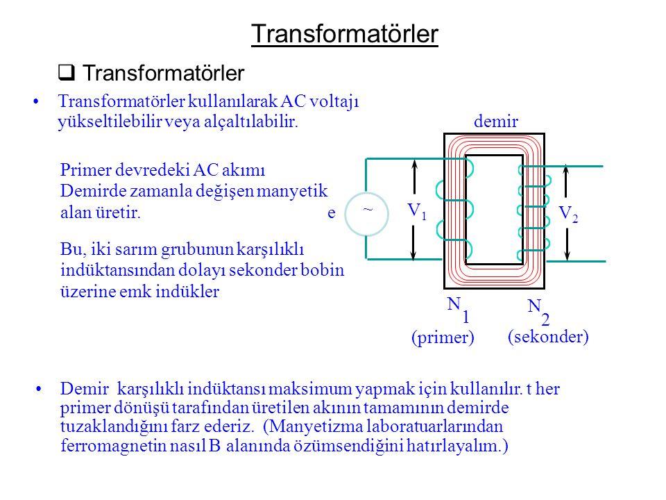 Transformatörler Transformatörler