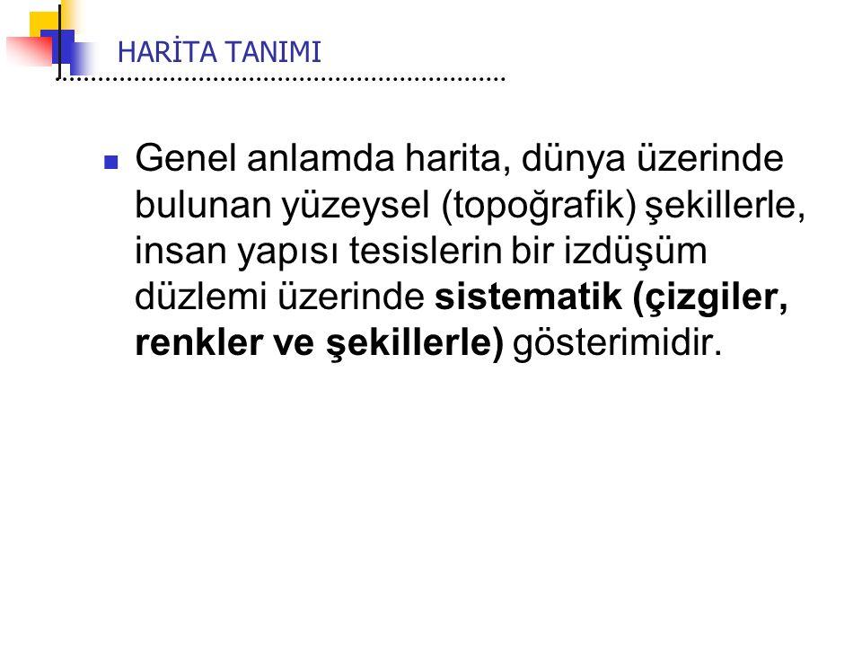 HARİTA TANIMI