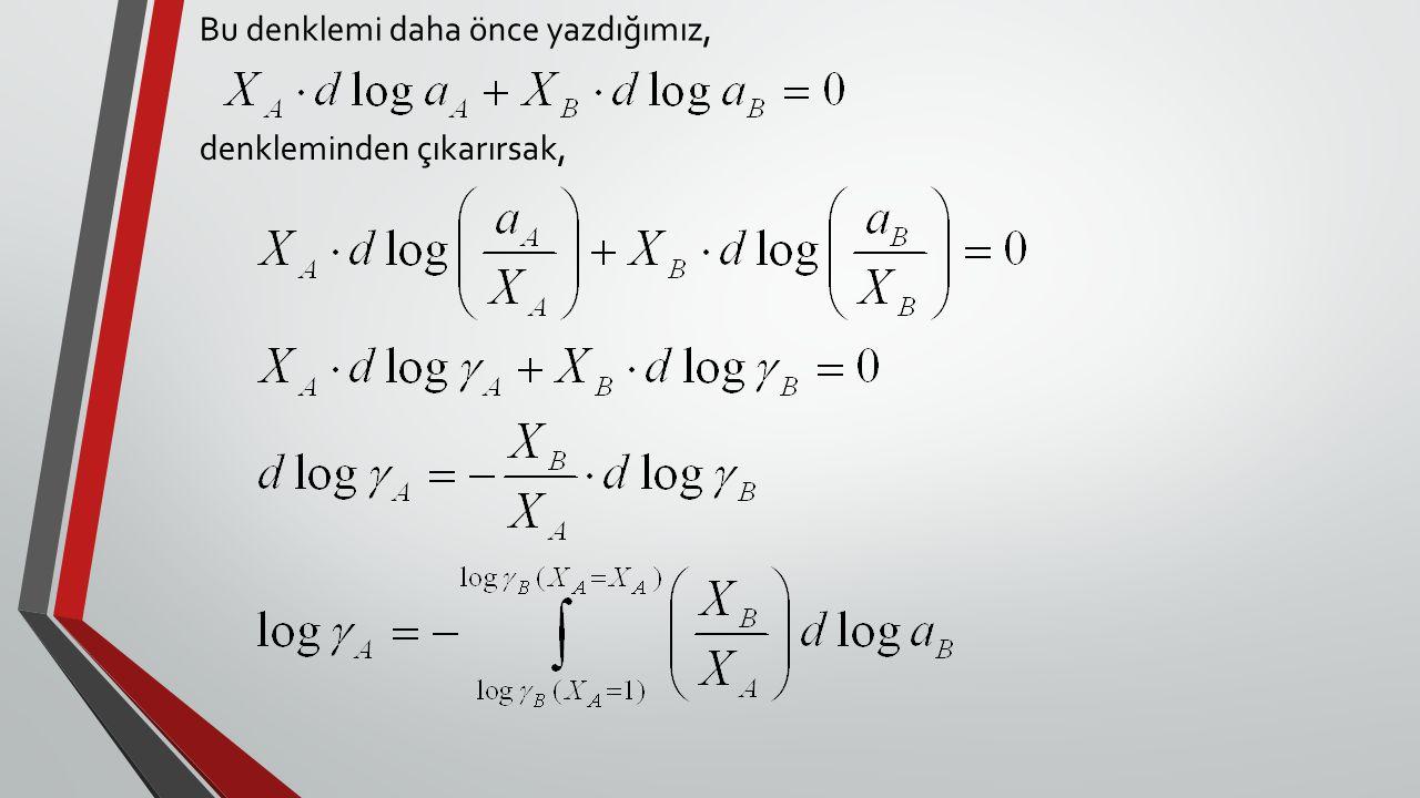 Bu denklemi daha önce yazdığımız,