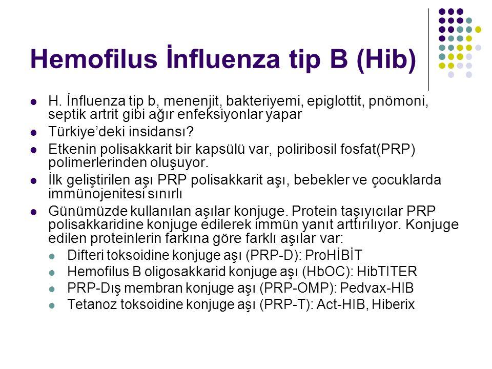 Hemofilus İnfluenza tip B (Hib)