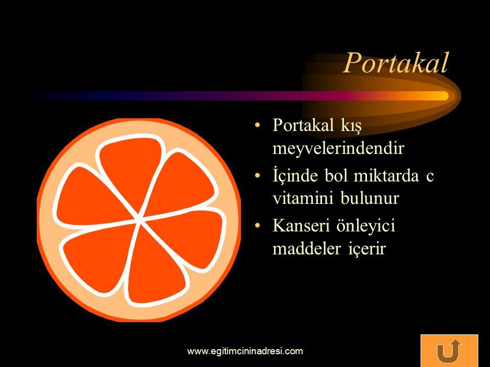 Portakal Portakal kış meyvelerindendir