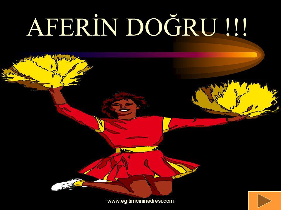 AFERİN DOĞRU !!! www.egitimcininadresi.com