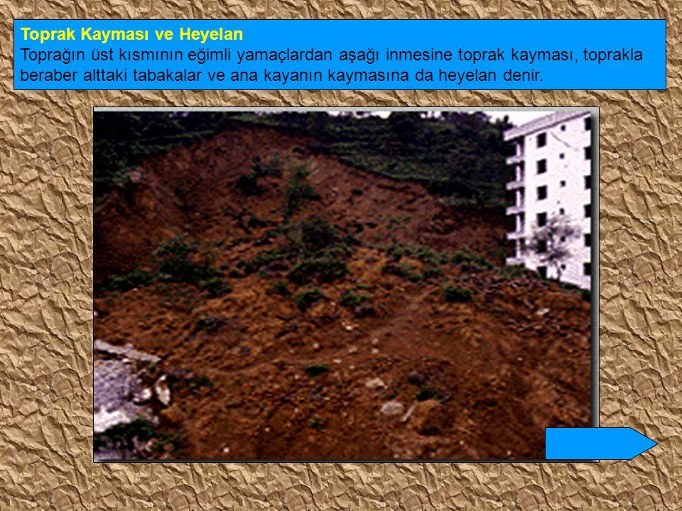 Toprak Kayması ve Heyelan