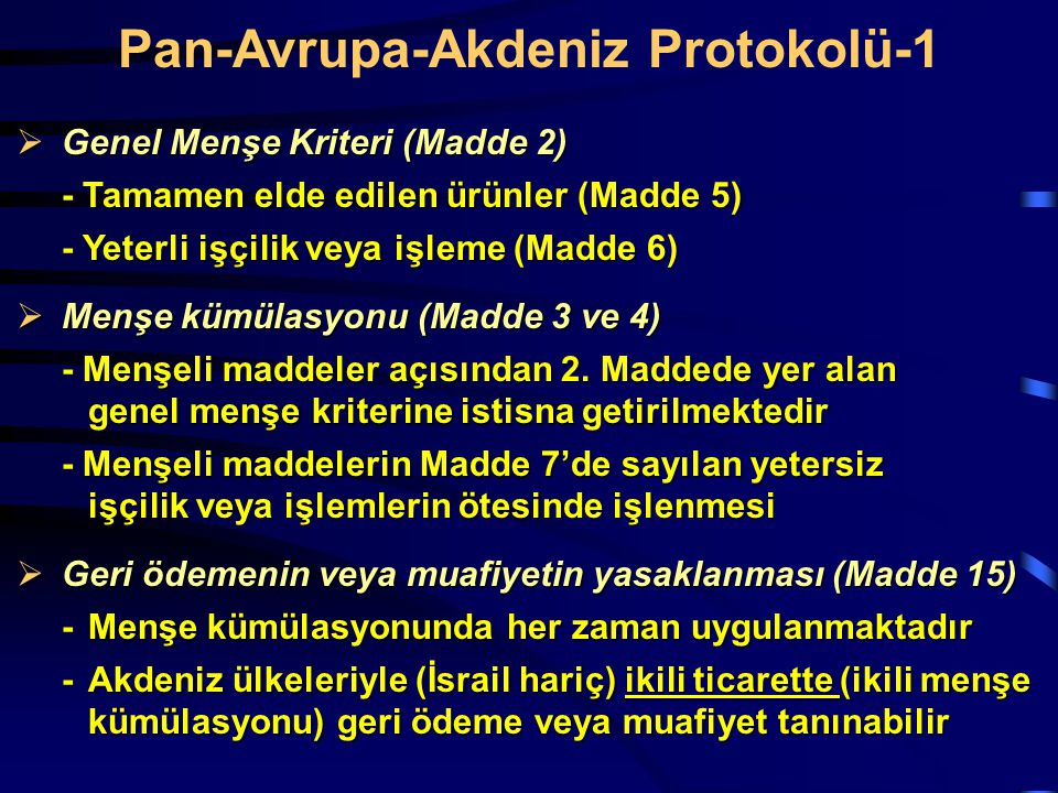 Pan-Avrupa-Akdeniz Protokolü-1