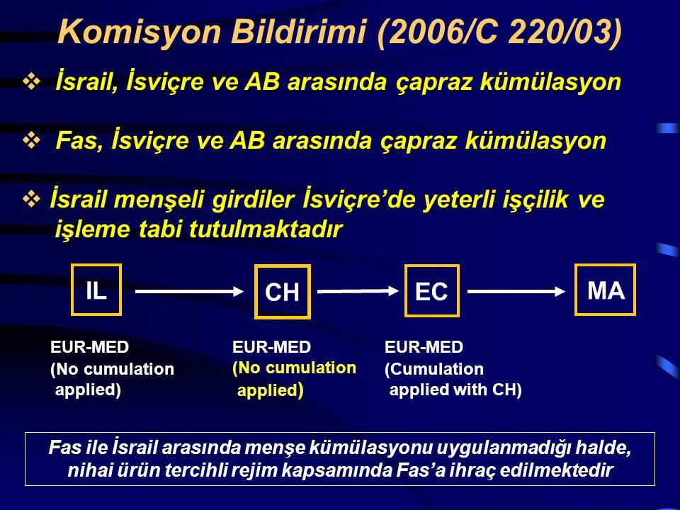 Komisyon Bildirimi (2006/C 220/03)