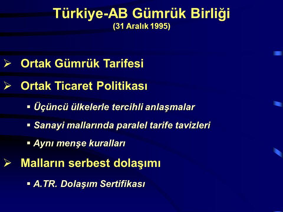 Türkiye-AB Gümrük Birliği