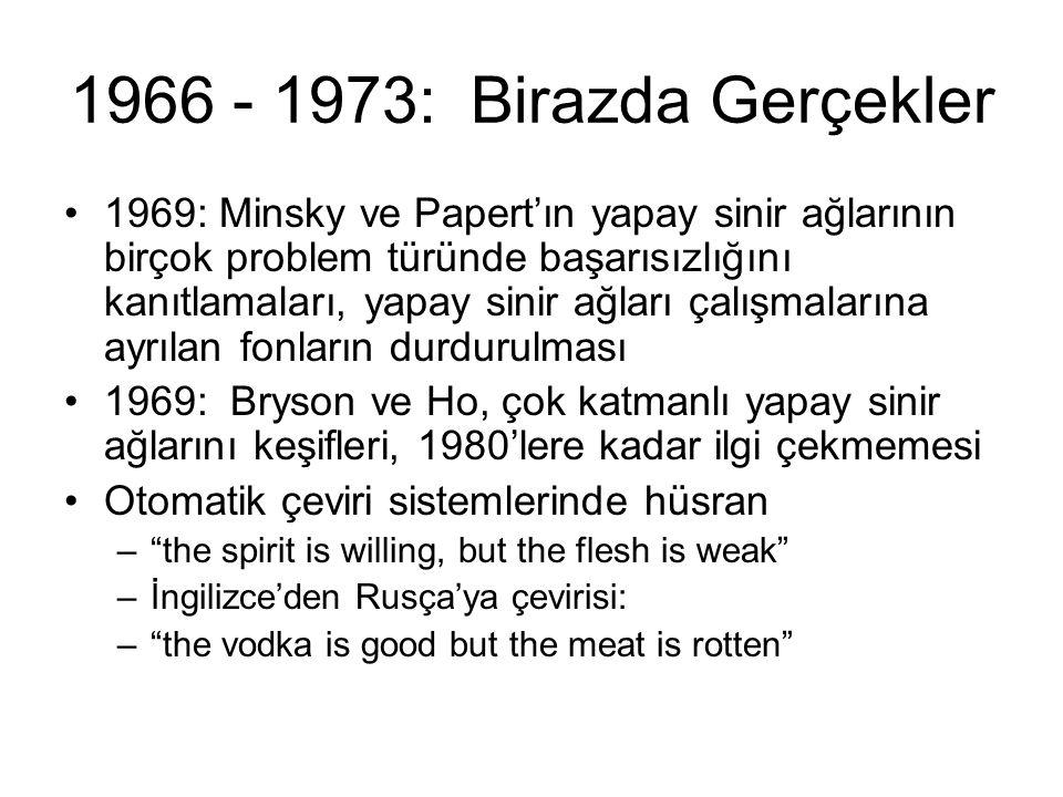 1966 - 1973: Birazda Gerçekler