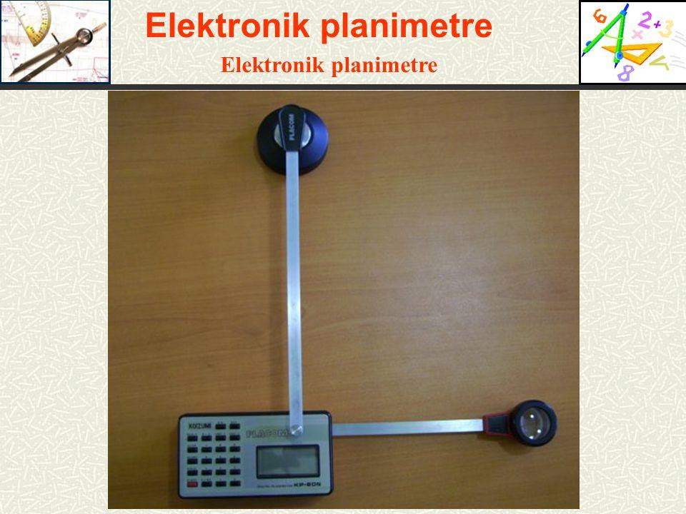 Elektronik planimetre