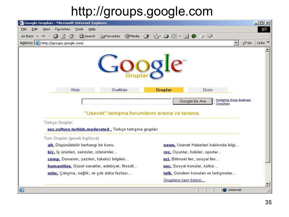 http://groups.google.com