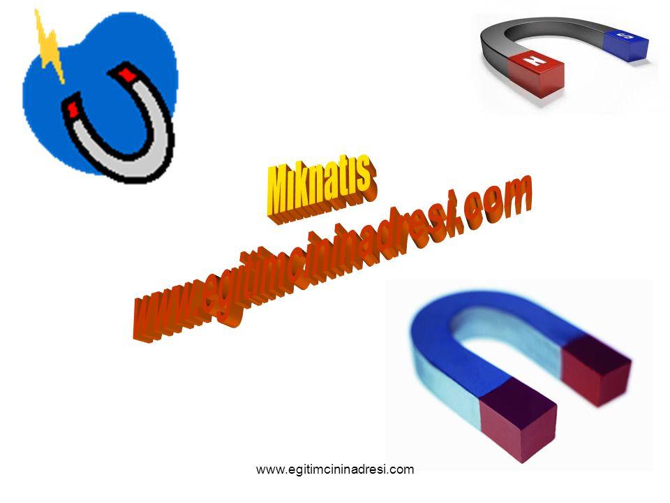 Mıknatıs www.egitimcininadresi.com www.egitimcininadresi.com