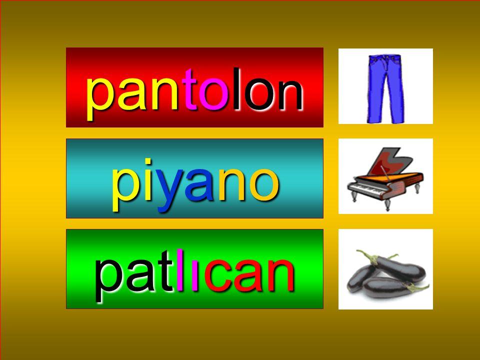 pantolon piyano patlıcan
