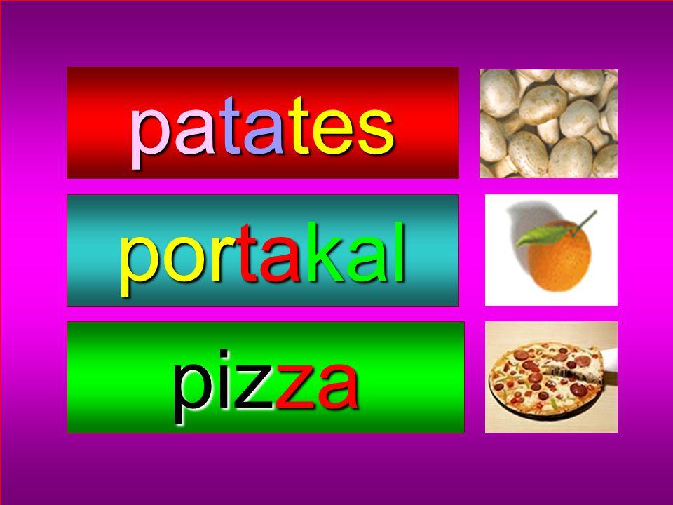 patates portakal pizza