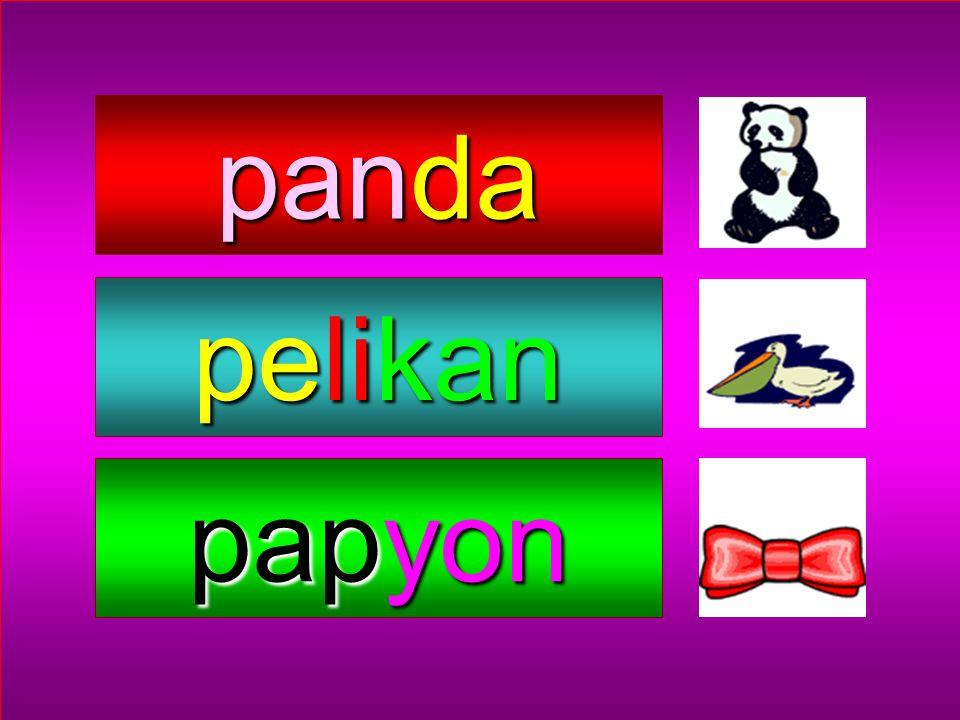 panda pelikan papyon