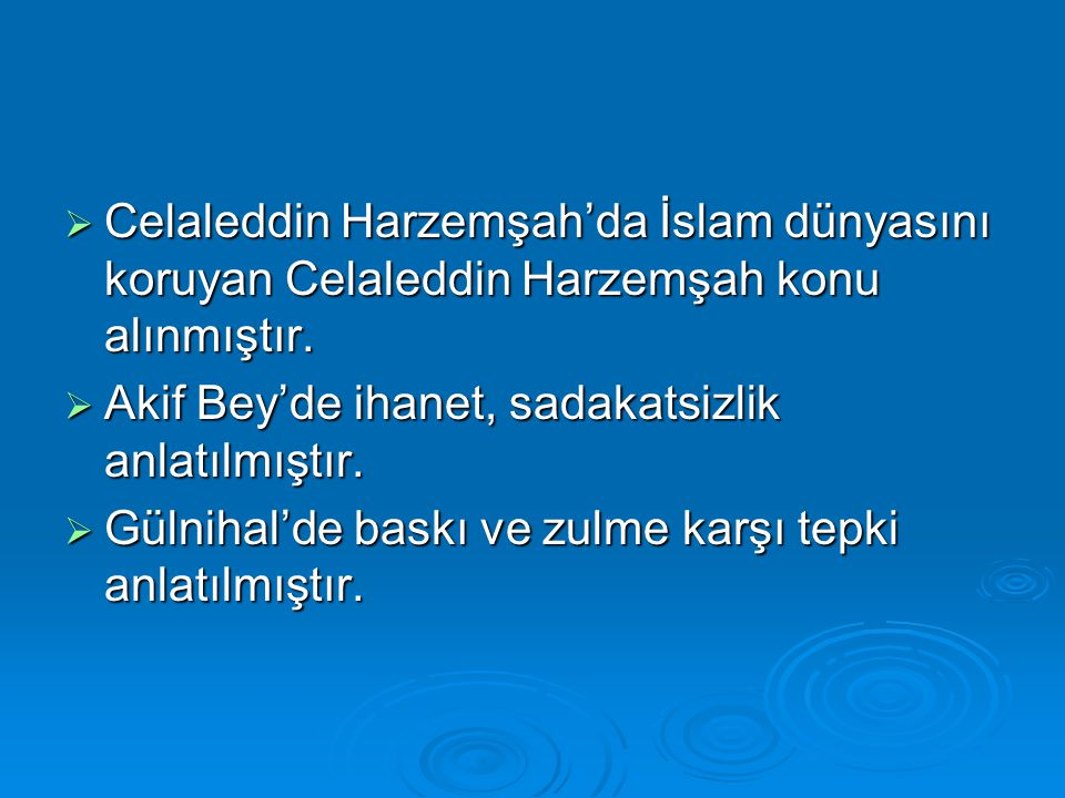 Celaleddin Harzemşah'da İslam dünyasını koruyan Celaleddin Harzemşah konu alınmıştır.