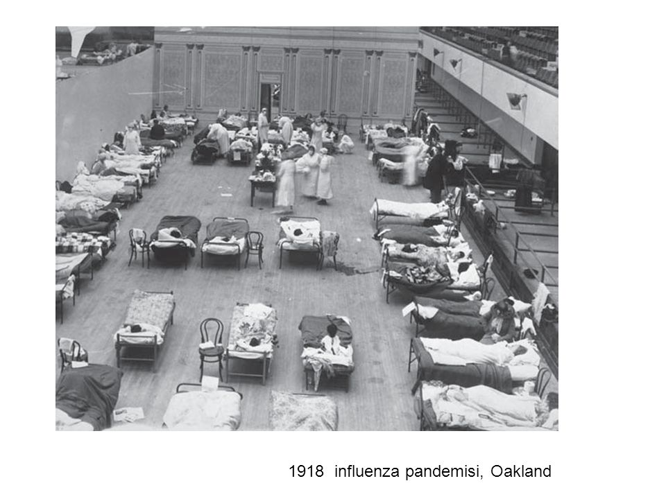 1918 influenza pandemisi, Oakland