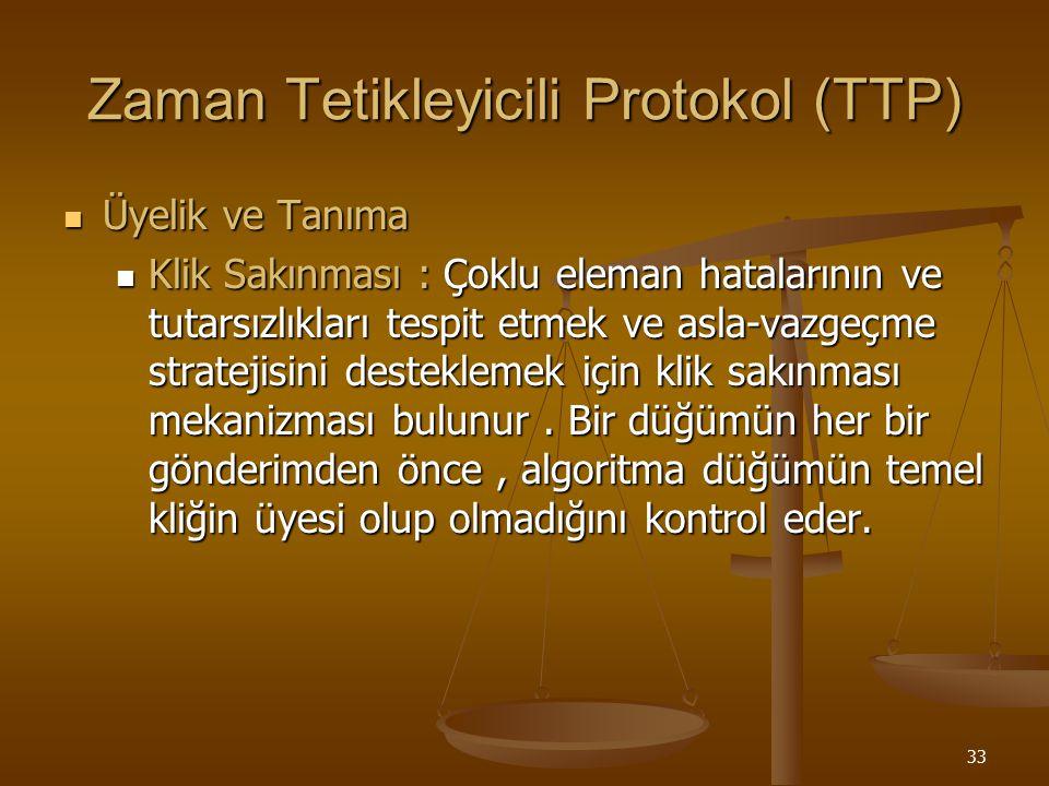 Zaman Tetikleyicili Protokol (TTP)