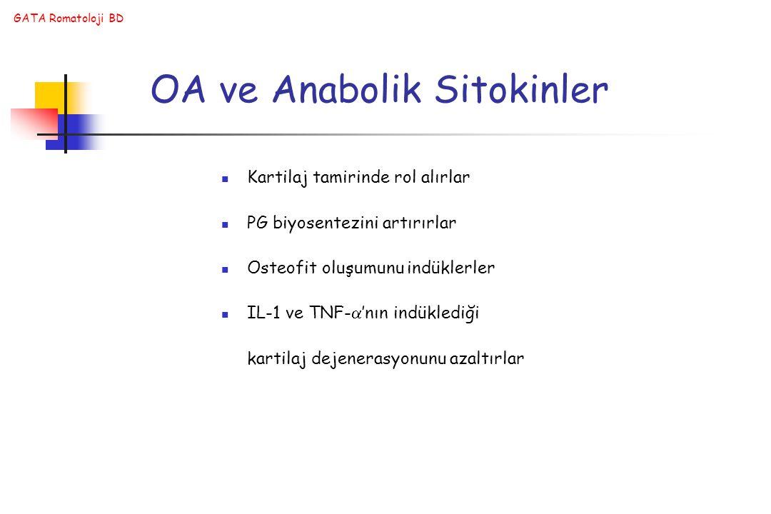 OA ve Anabolik Sitokinler