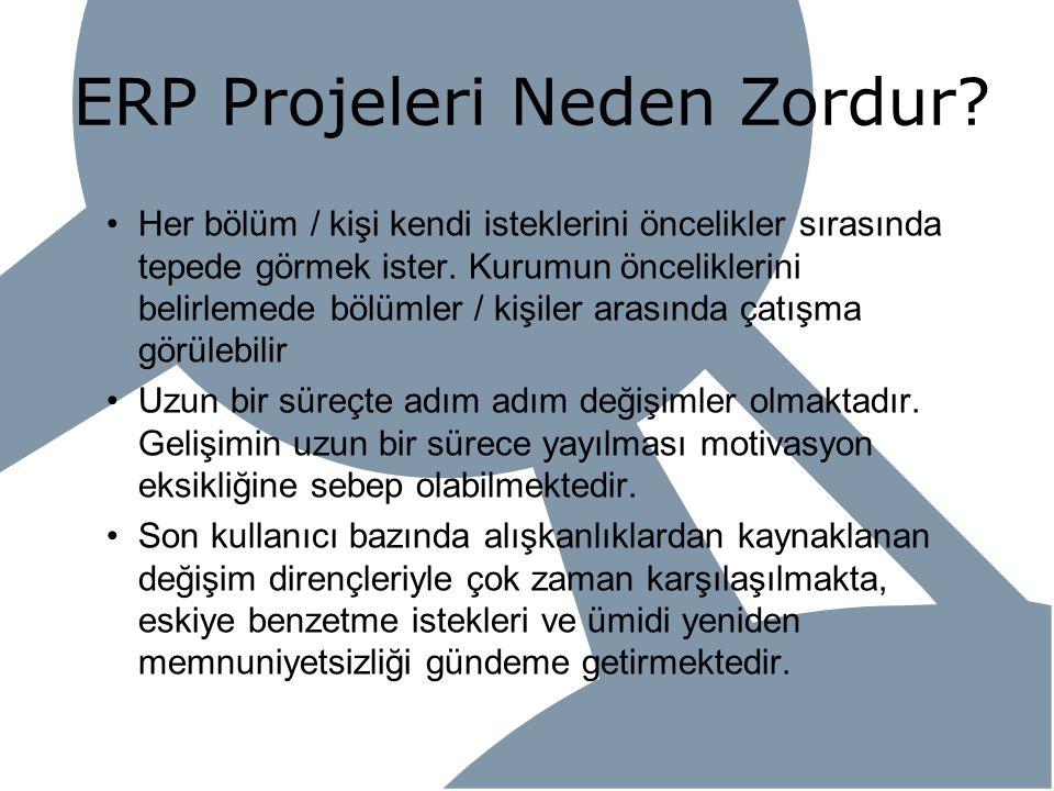 ERP Projeleri Neden Zordur