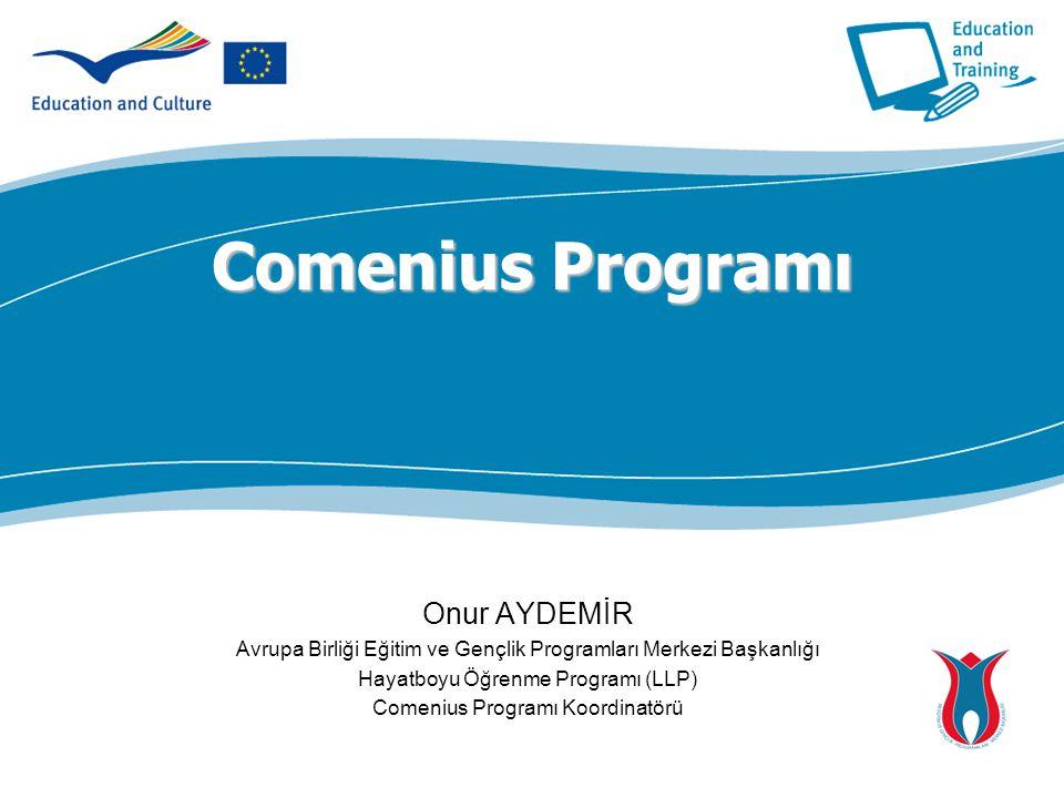 Comenius Programı Onur AYDEMİR