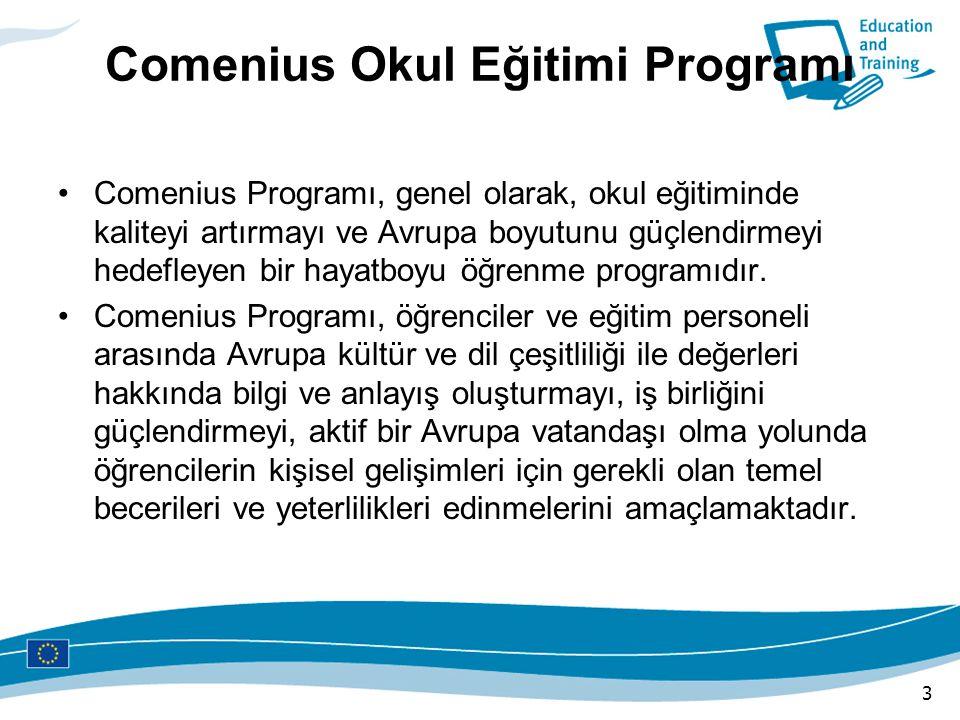 Comenius Okul Eğitimi Programı