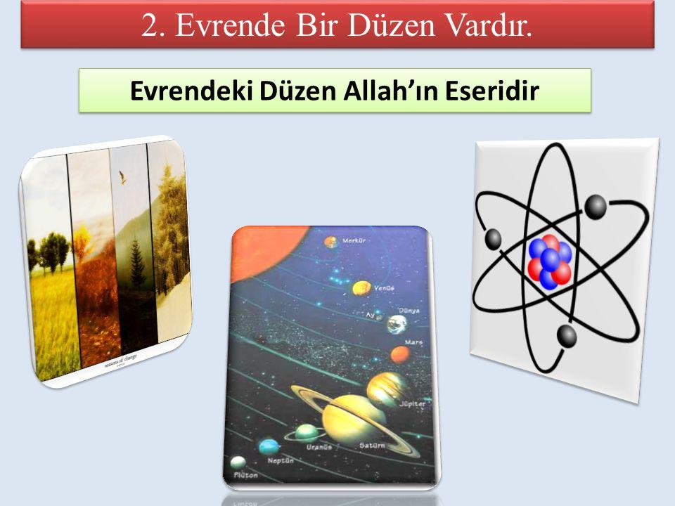 Evrendeki Düzen Allah'ın Eseridir