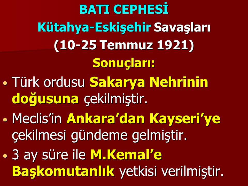 Kütahya-Eskişehir Savaşları