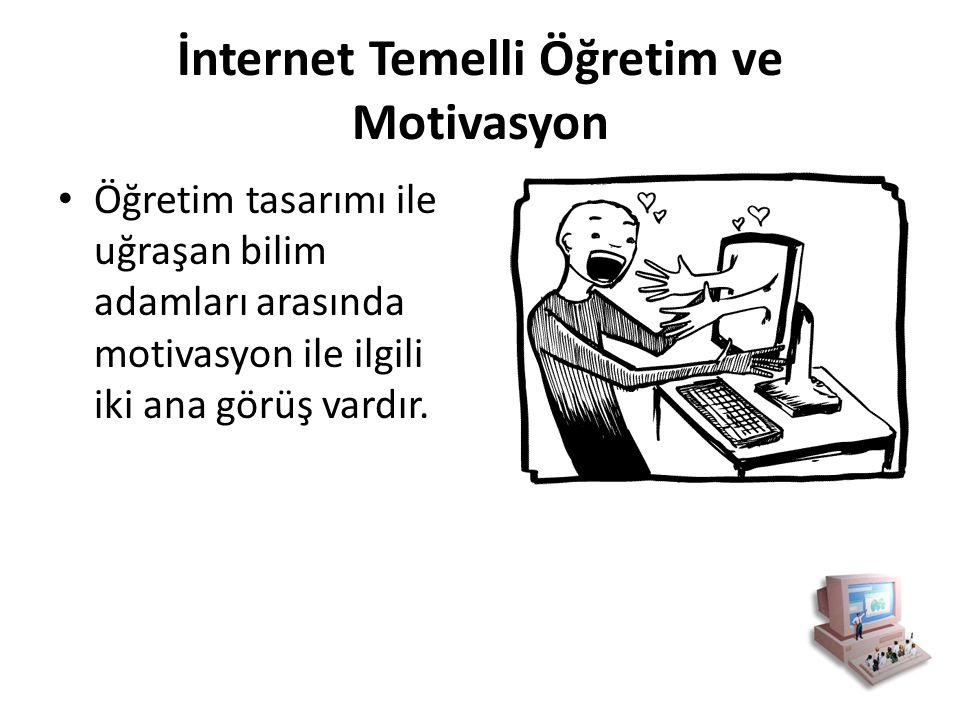 İnternet Temelli Öğretim ve Motivasyon