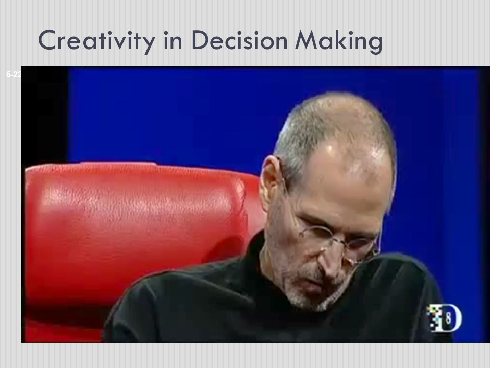 Creativity in Decision Making