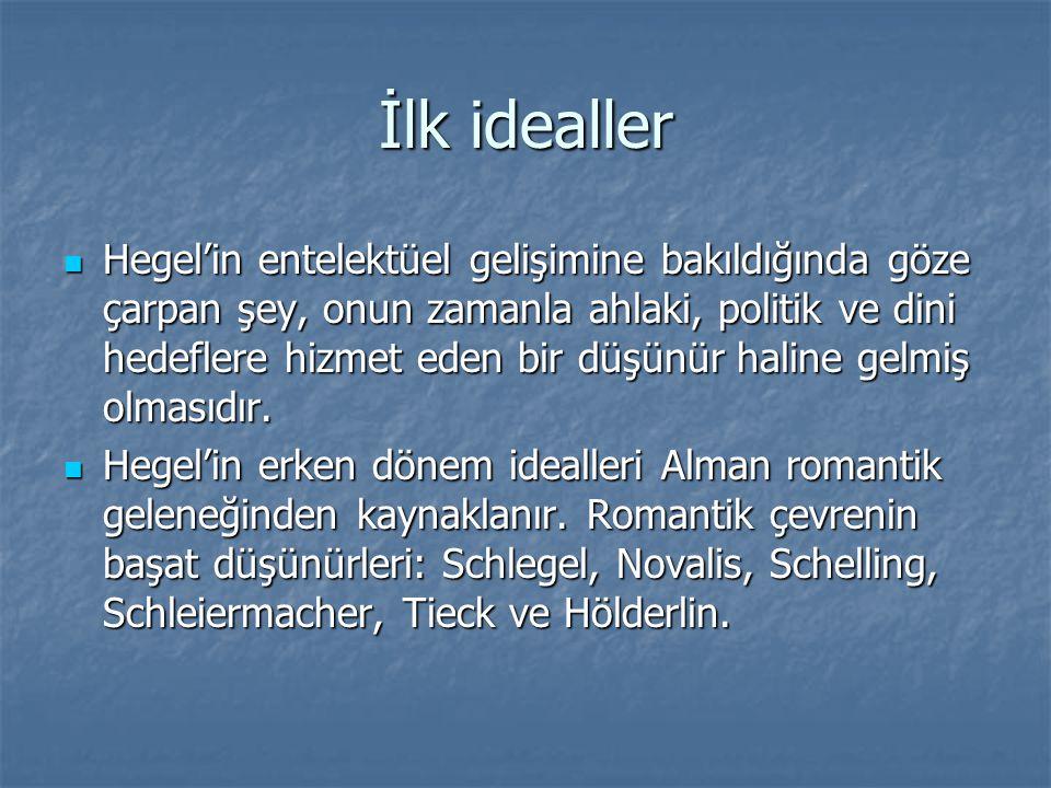 İlk idealler