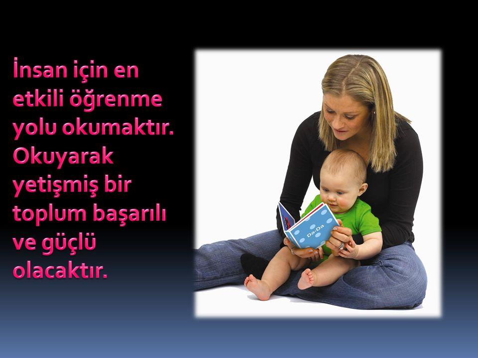 İnsan için en etkili öğrenme yolu okumaktır