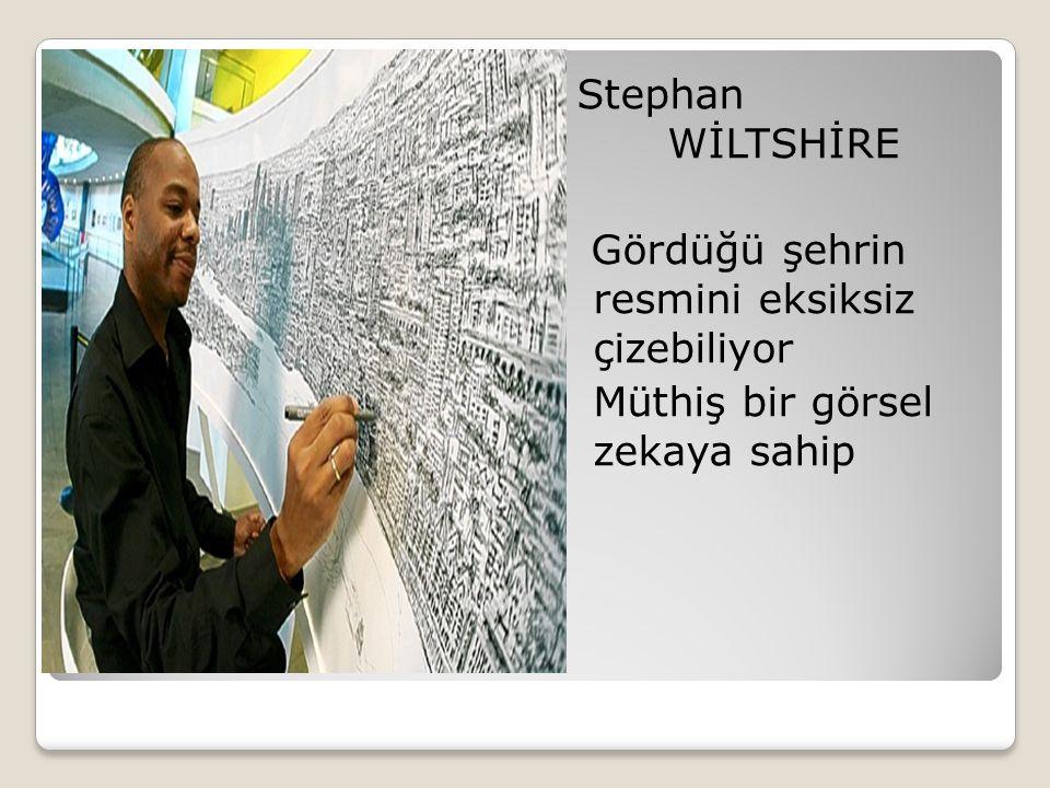 Stephan WİLTSHİRE Gördüğü şehrin resmini eksiksiz çizebiliyor Müthiş bir görsel zekaya sahip